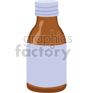 medicine bottle no background clipart. Commercial use image # 408206