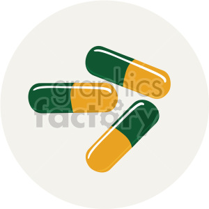 medication pills clipart. Royalty-free image # 408214