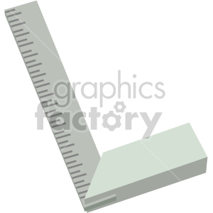 measuring square clipart. Royalty-free image # 408253