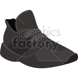 brown walking shoe clipart. Royalty-free image # 408337