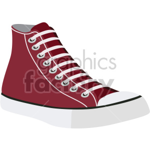 vintage basketball shoe clipart. Royalty-free image # 408347