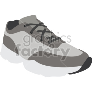running dad shoe clipart. Commercial use image # 408355