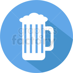 blue beer icon clipart. Commercial use image # 408457