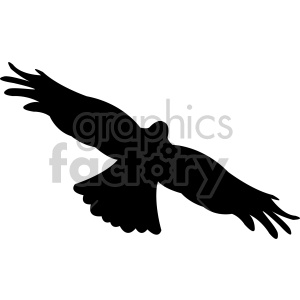 bird silhouette vector clipart. Royalty-free image # 408490