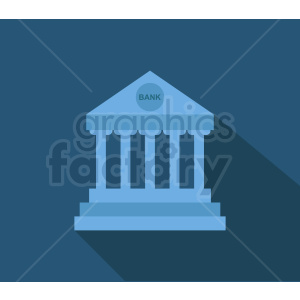 bank vector icon clipart. Royalty-free image # 408530