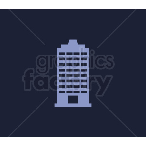 vector skyscraper building on dark background clipart. Commercial use image # 408592