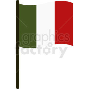 italian flag graphic clipart. Royalty-free image # 408830