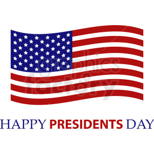 presidents day vector design clipart. Royalty-free image # 409013