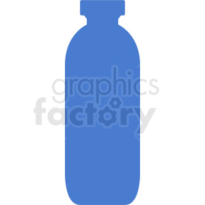 blue hydro flask silhouette no background clipart. Royalty-free image # 409088