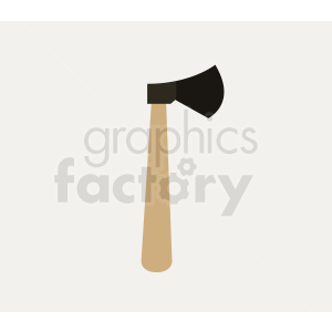 axe on square background clipart. Royalty-free image # 409095