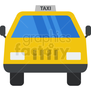 taxi vector design clipart. Royalty-free image # 409130