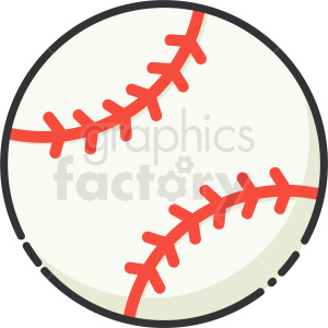 baseball icon clipart. Commercial use image # 409167
