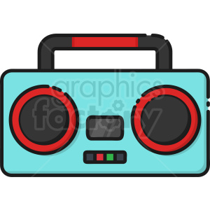 icon radio boombox km