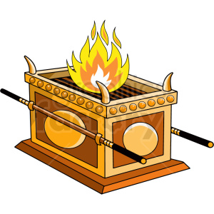 altar of sacrifice clipart. Royalty-free image # 409256