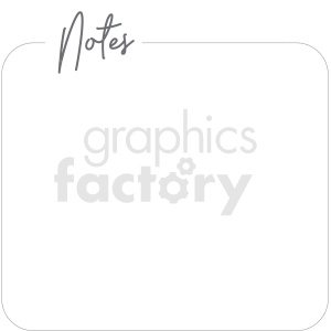 notes widget digital planner sticker clipart. Commercial use image # 409348