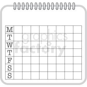 7 day log chart