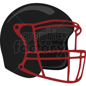 black football helmet vector clipart no background clipart. Royalty-free image # 409519