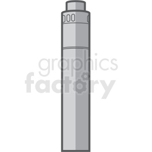 large vape pen vector clipart clipart. Royalty-free image # 409568