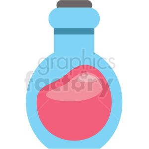 potion bottle vector icon clipart clipart. Royalty-free image # 409862