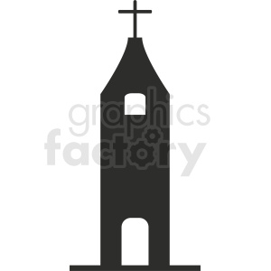 religious building silhouette vector clipart clipart. Commercial use image # 410418