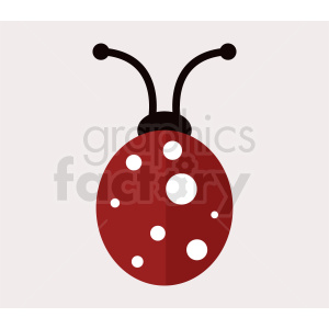 vector ladybug clipart clipart. Commercial use image # 410486
