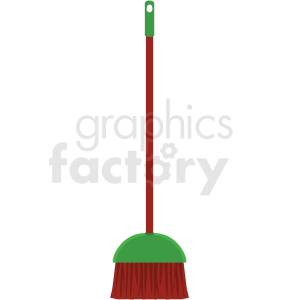 floor broom vector clipart clipart. Commercial use image # 410550