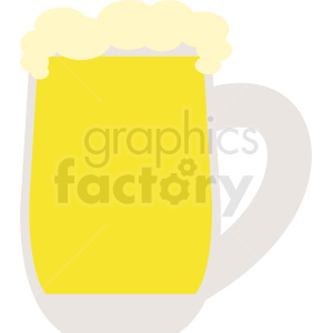 vector glass of beer clipart. Royalty-free image # 410708