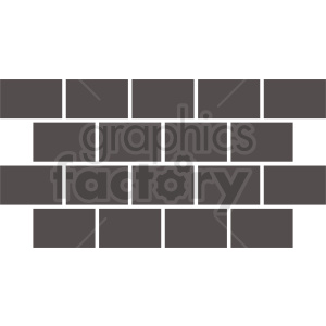 brick wall vector clipart template clipart. Royalty-free icon # 410761