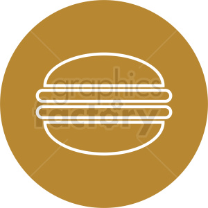 sandwich vector icon clipart. Royalty-free image # 410799