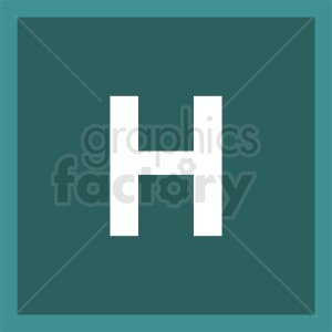hospital sign icon clipart. Royalty-free image # 410851