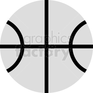 vector basketball icon clipart. Commercial use image # 411095