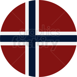 flag of Norway icon clipart. Royalty-free image # 411110