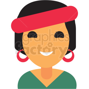 fortune teller avatar icon vector clipart clipart. Royalty-free image # 411534