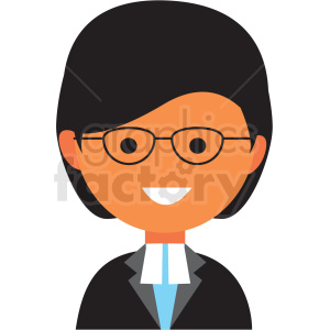 female teacher icon vector clipart clipart. Royalty-free image # 411547