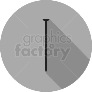 nail vector clipart circle icon clipart. Commercial use image # 411851
