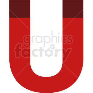 vector magnet icon clipart. Royalty-free image # 411984