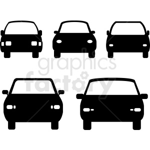 car front ends vector clipart clipart. Royalty-free image # 412022