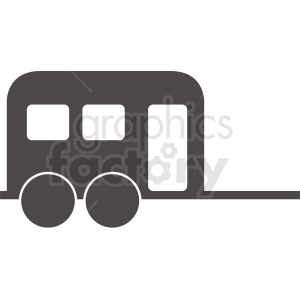 camper vector clipart design clipart. Royalty-free image # 412054