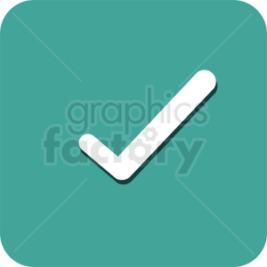 checkmark vector icon design clipart. Royalty-free image # 412104
