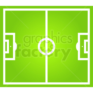 soccer field clipart clipart. Commercial use image # 412157