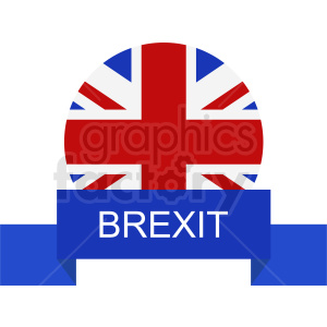 Brexit vector design clipart. Commercial use image # 412168