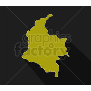 Columbia vector design on dark background clipart. Commercial use image # 412191