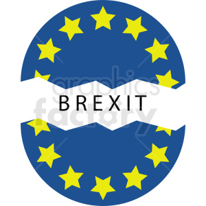 brexit design clipart. Commercial use image # 412223