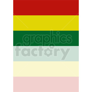 bolivia flag vector art clipart. Royalty-free image # 412350
