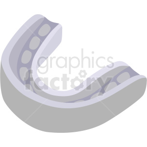 boxing mouth piece vector clipart clipart. Commercial use image # 412514