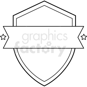 shield design vector clipart clipart. Commercial use image # 412563