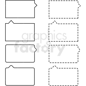 rectangle panel overlay border templates vector clipart clipart. Commercial use image # 412658