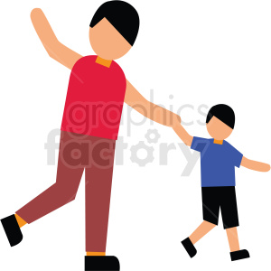 family playing vector clipart clipart. Commercial use image # 412738