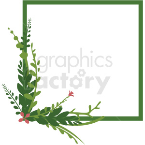 square wreath vector clipart clipart. Royalty-free image # 412776