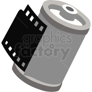 35mm film vector clipart. Royalty-free image # 412833